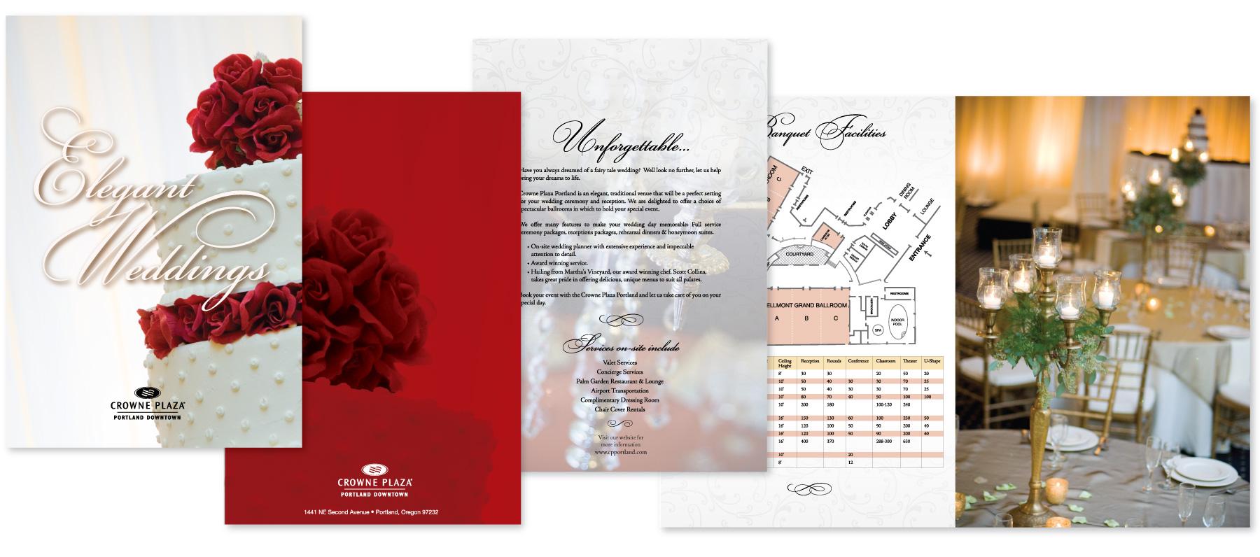 Crowne Plaza Wedding Brochure Arno Jenkins